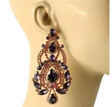 So Regal Earrings - Purple