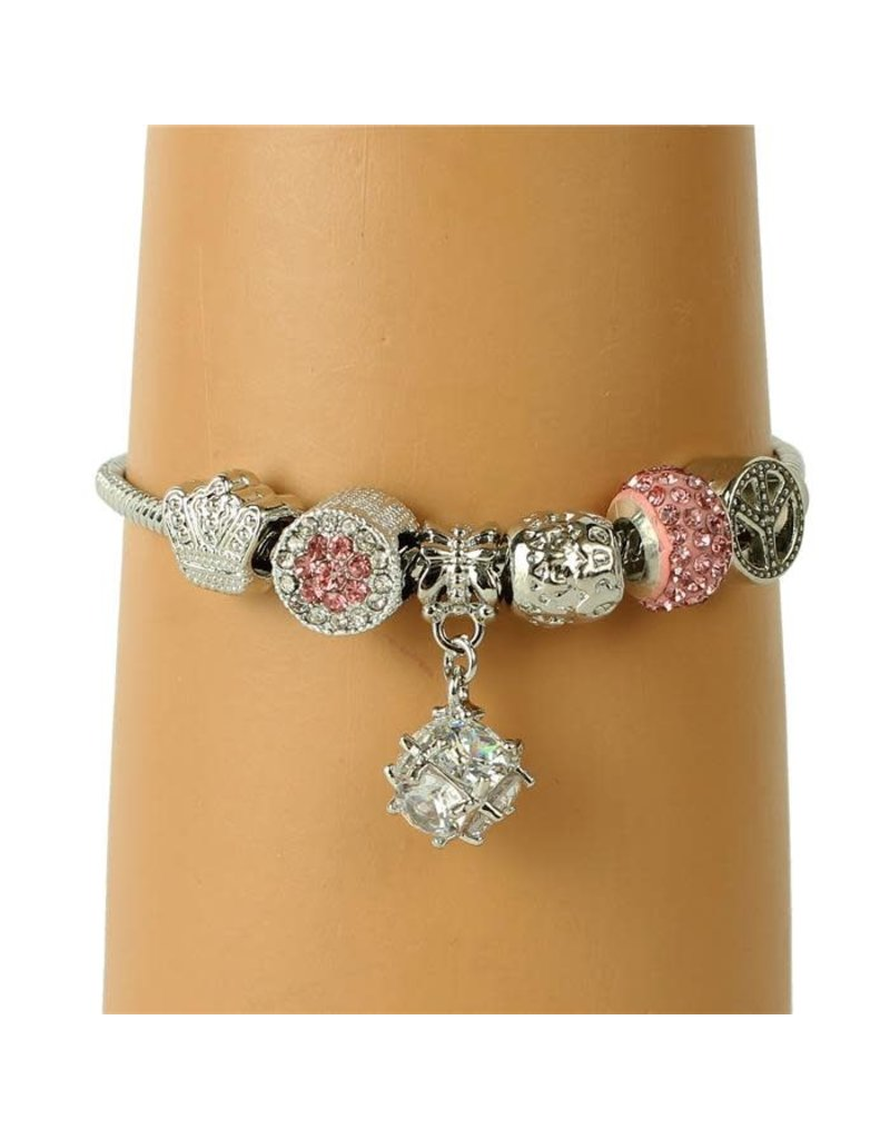Crown Royal Charm Bracelet