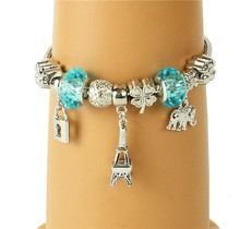 Paris Nights Charm Bracelet