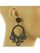 Love Load Earrings - Pewter