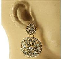 Sparkle Extra Earrings - Gold