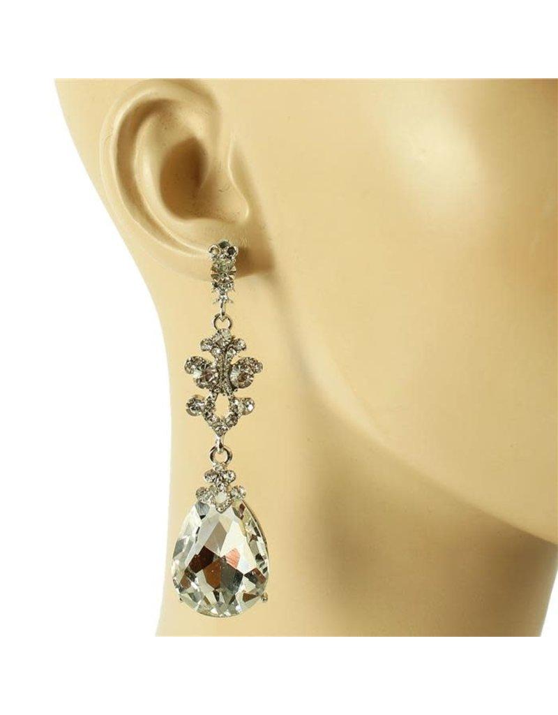 A Little Sparkle Earrings - Silver