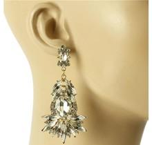Hidden Gem Earrings - Gold