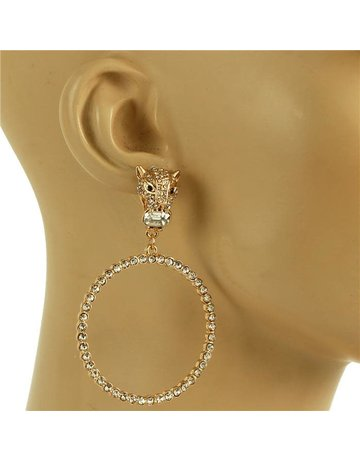 Don't Come Knockin Earrings - Gold