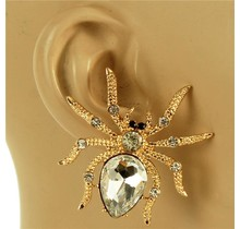 Spidey Senses Earrings - Gold
