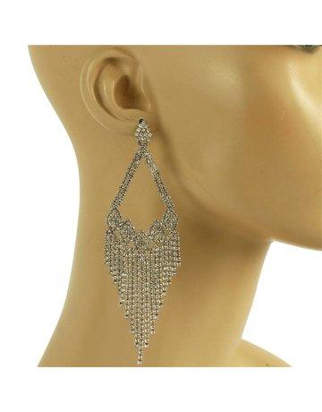 Feel The Love Earrings - Silver