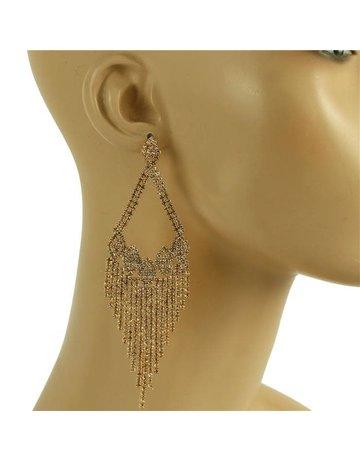 Feel The Love Earrings - Rose Gold