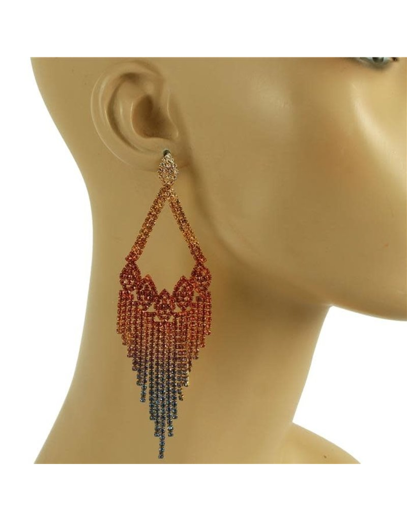 Feel The Love Earrings - Multi