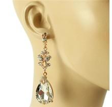 A Little Sparkle Earrings - Gold