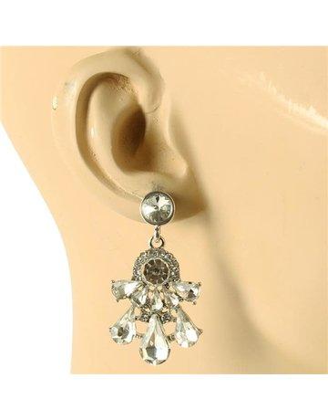Drippin In Luxury Earrings - Silver