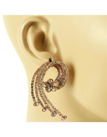 On A Mission Earrings - Rose Gold