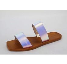 Natural Instinct Sandals - Iridescent