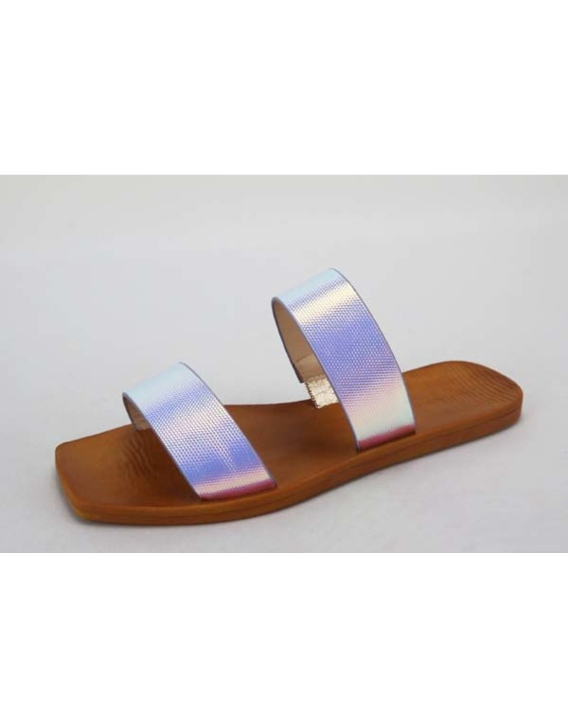 Natural Instinct Sandals - Iridescent