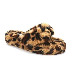 Warm Wishes Platform Sandals - Leopard