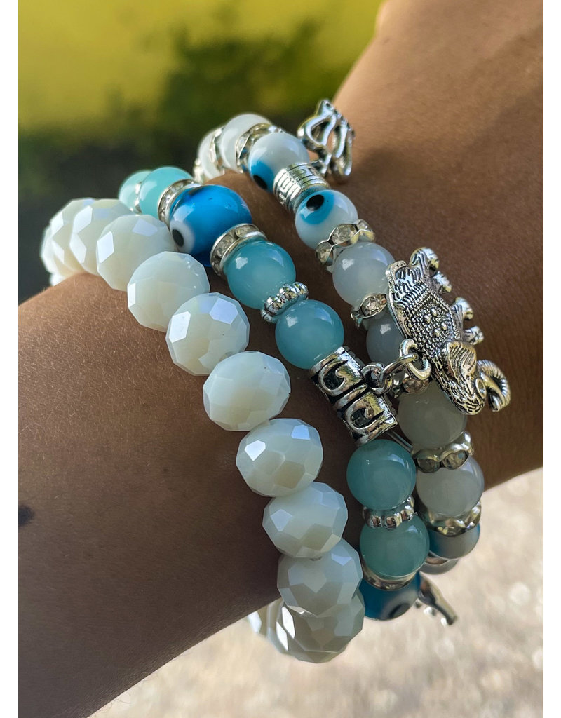 Good Vs Evil Bracelet Stack