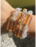 Clear My Thoughts Bracelet Stack