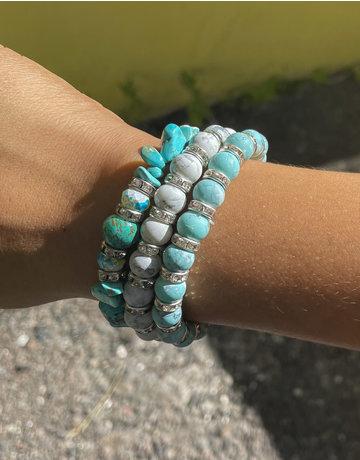Minty Cool Bracelet Stack