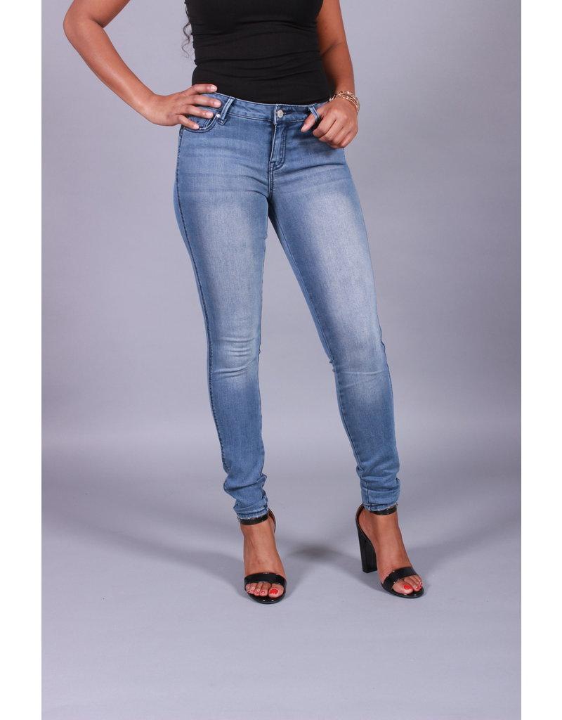 Sculpt Me Mid Rise Skinny Jeans