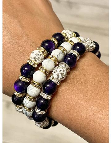 Purple Passion Bracelet Stack