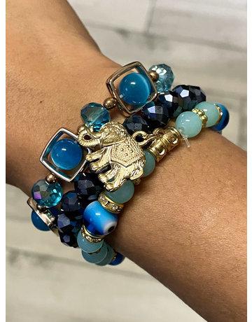 Ocean Breeze Bracelet Stack