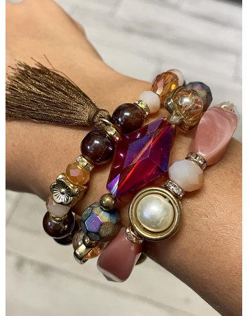 Not So Natural Bracelet Stack