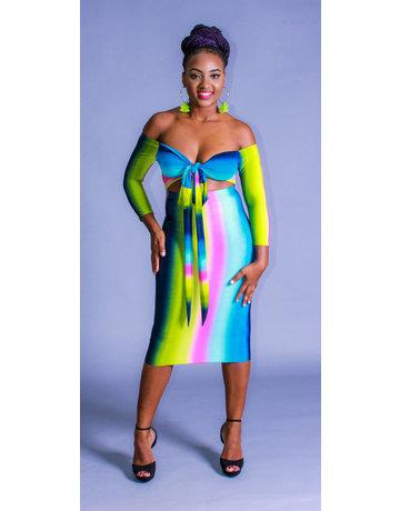 Rainbow Delight Dress