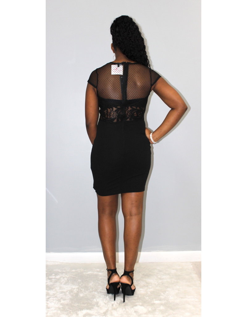 No Wasting Time Lace Dress