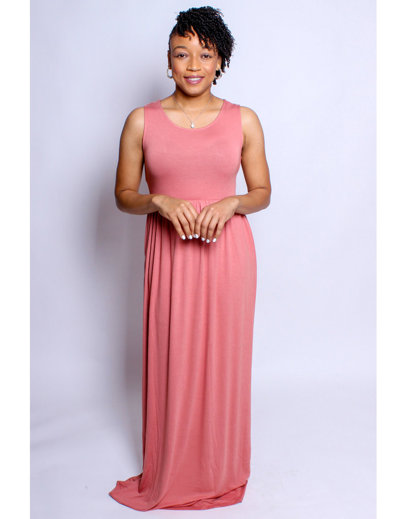 Day Out Maxi Dress - Coral