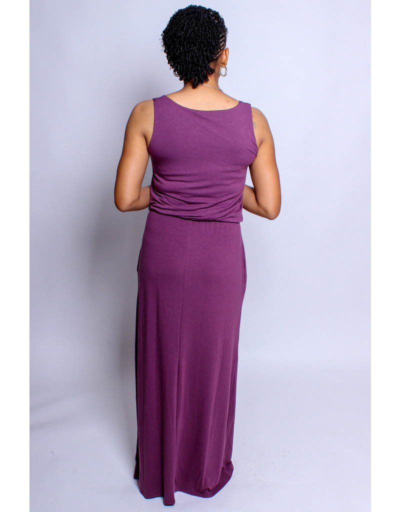 Day Out Maxi Dress - Purple