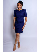 Playing It Safe Dress - NAVY
