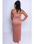 Keep Me Around Maxi Dress - MOCHA