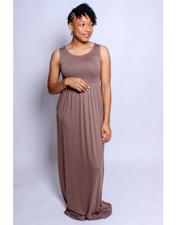 Chill Out Maxi Dress - Mocha