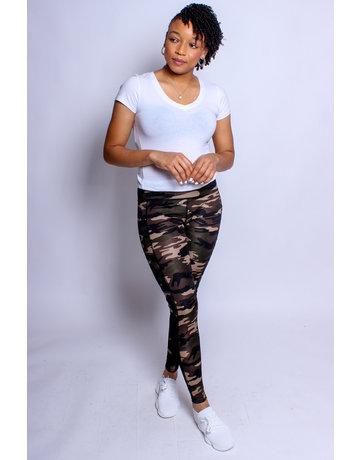 Military Rebel Camo Leggings