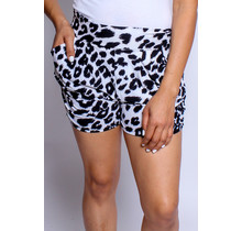 On The Wild Leopard Shorts