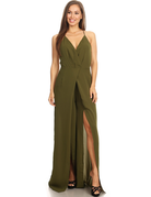 Drop The Mic Jumpsuit Olive