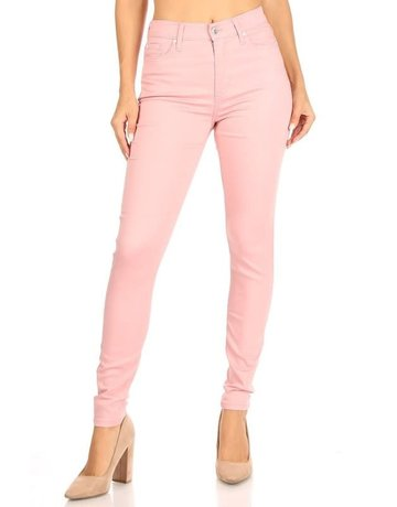 Good Days High Rise Skinny Jeans - Mauve
