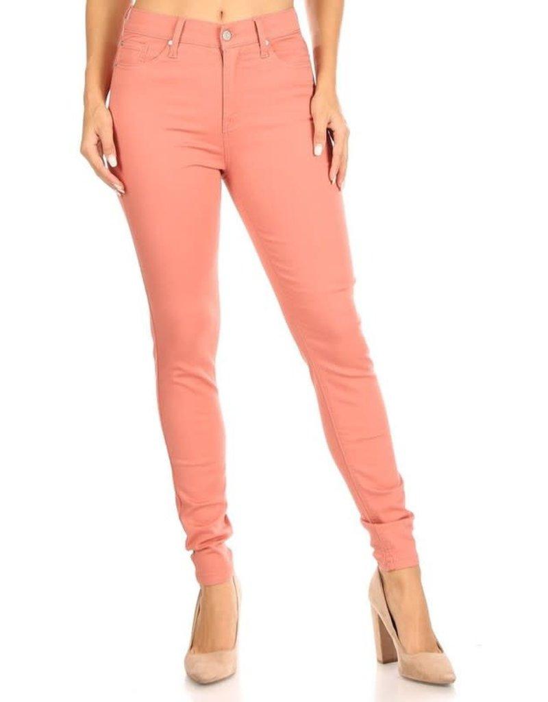 Good Days High Rise Skinny Jeans - Cinnamon