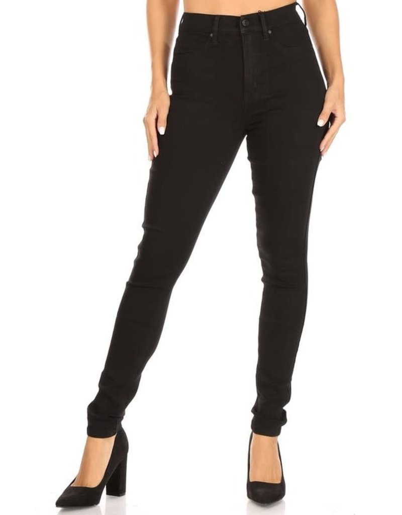 Let's Get It Ultra High Rise Waisted Skinny Jeans