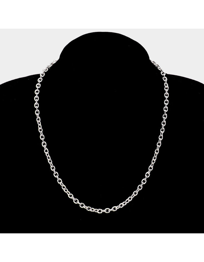 Chain Attraction Necklace 18in