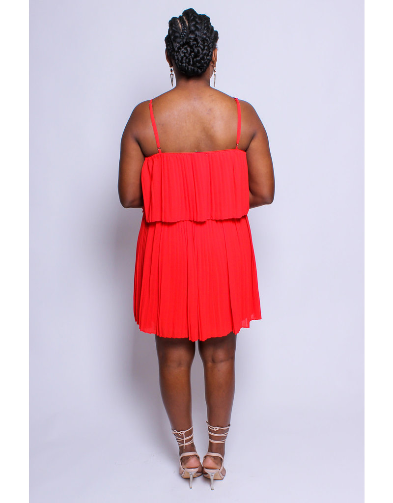 The Easy Life Pleated Dress