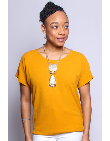 No Ifs Or Buttons Top - MUSTARD