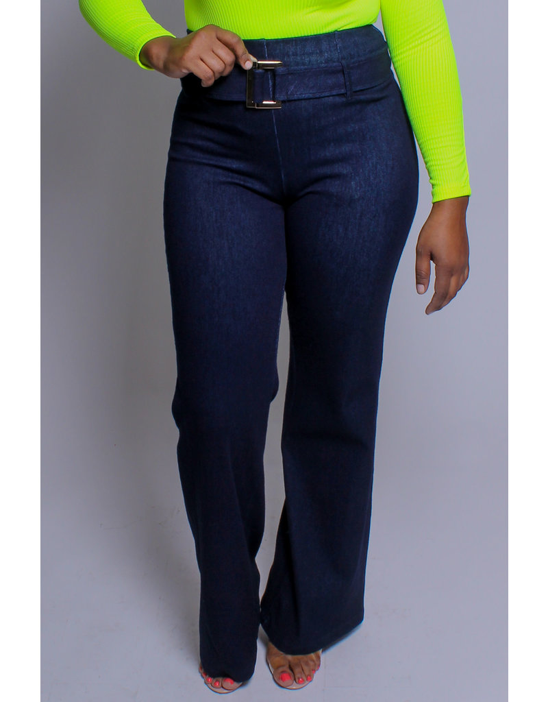 So Not Average High Waist Denim Pants