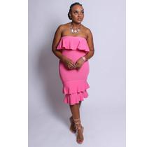Candy Shop Ruffle Dress