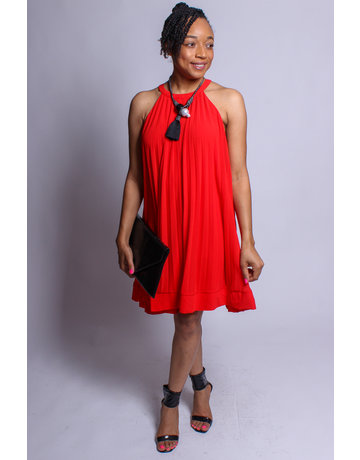 Need Some Time Dress - RED