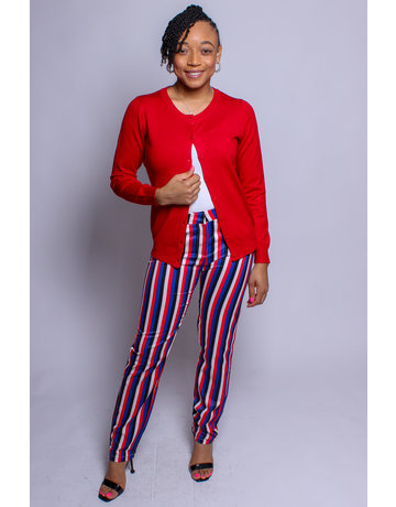 Patriots Rule Striped Pants