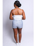 Stripe Now Shorts