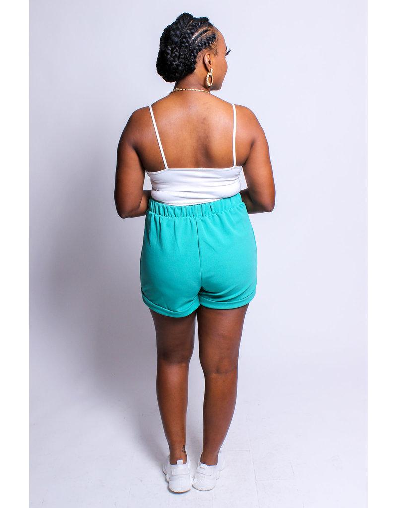 Cuffing Season Shorts - JADE
