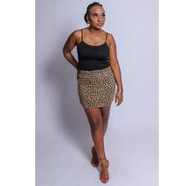 Fierce Like You Leopard Skirt