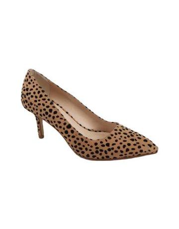 She Means Business Pumps - Cheetah