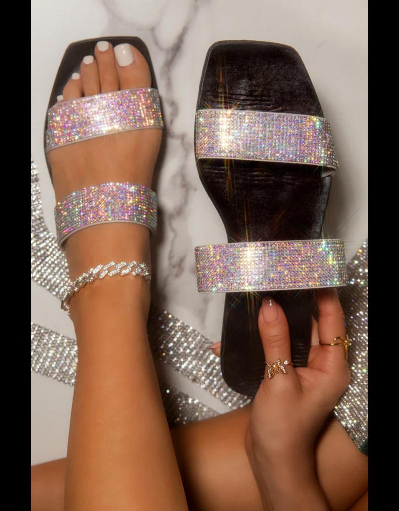 Bling Dreams Sandals - Iridescent